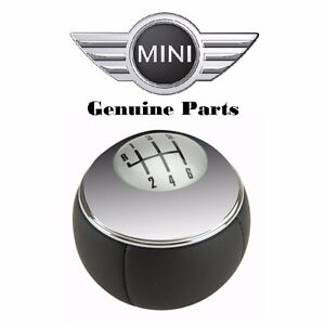 For Porsche Mini Cooper 2002 2008 Manual Trans Shift Knob Genuine 25117542272