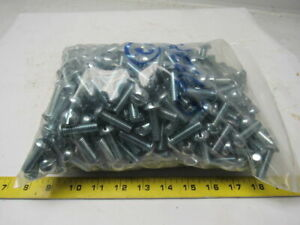 Slotted Round Head Steel Machine Screw 3 8 16 X 1 1 4 Lot Of Approx 500