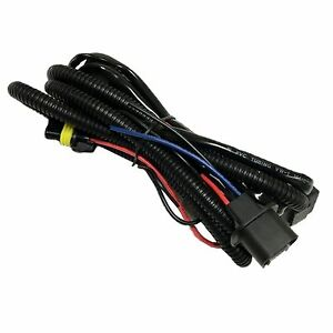 Relay Wiring Harness For High Low Beam Hid Xenon Kit 9004 9007 H4 H13 9008