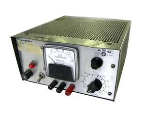 Kepco High Voltage Power Supply 0 1500vdc 10ma Max Model Abc1500m