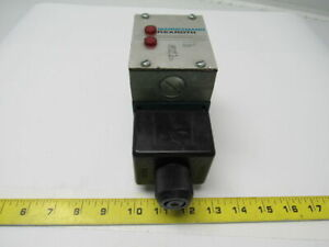 Rexroth 4we10d31 0fcw110n9dal Hydraulic Directional Control Valve