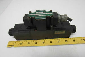 Kayba Dssn acb 02 d24 cls l 4 Hydraulic Solenoid Directional Control Valve 24vdc