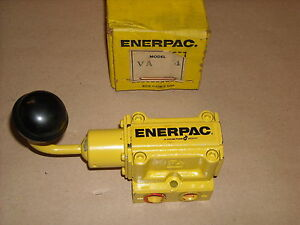 New Enerpac Va 4 4 Way Air Valve Manual Control