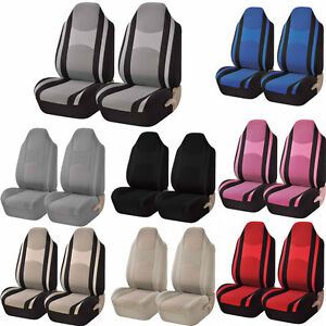 Uaa Premium Universal Auto Car Truck Polyester Mesh Net High Back Seat Covers