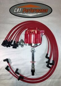 1975 1980 C3 Corvette Gm Hei Distributor Red 8mm Plug Wires Made In Usa