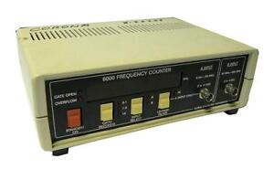 Global Specialties 6000 Frequency Counter 2 Inputs