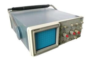 Tektronix 2213 Oscilloscope 60 Mhz 2 Channels Sold As Is