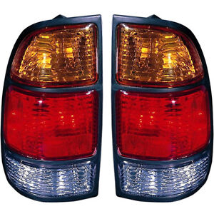 Pair left Right Tail Lights Fits 2000 2004 Toyota Tundra With Standard Bed