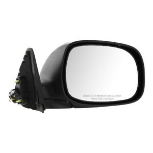 Power Mirror For 2000 2004 Toyota Tundra Right Side Manual Folding Chrome