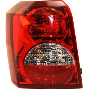 Tail Light For 2008 2012 Dodge Caliber Driver Side