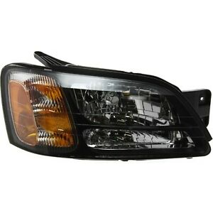 Headlight For 2000 2004 Subaru Outback 2003 2006 Baja Passenger Side W Bulb