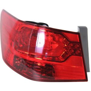 Tail Light For 2010 2013 Kia Forte Lh Outer Sedan