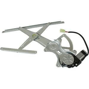 Power Window Regulator For 2003 2008 Toyota Matrix Front Driver Side With Motor