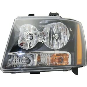 Headlight For 2007 2014 Chevrolet Tahoe 2007 2013 Avalanche Driver Side W Bulb