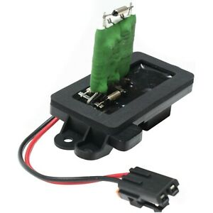 Front Heater Blower Motor Resistor For Chevy Gmc Cadillac Pickup Truck Suv