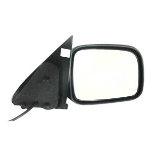 Power Mirror For 2002 2007 Jeep Liberty Right Textured Black Manual Folding