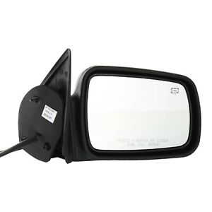Power Mirror For 1996 1998 Jeep Grand Cherokee Right Heated Textured Black