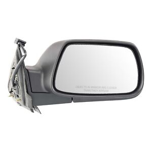 Power Mirror For 2005 2010 Jeep Grand Cherokee Passenger Side Textured Black