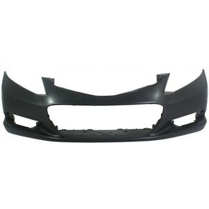 Front Bumper Cover For 2012 2013 Honda Civic Coupe W Fog Lamp Holes Primed Capa