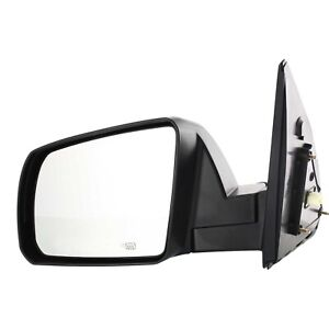 Power Mirror For 2007 2013 Toyota Tundra Driver Side Heated Textured Black