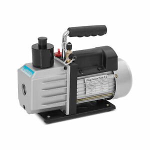 1 2hp Rotary Vane 5cfm Vacuum Pump R410a R134a Refrigerant Hvac Single stage