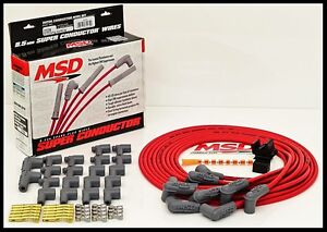Msd Super Conductor Universal Wires Red 90 Boots Msd 31239