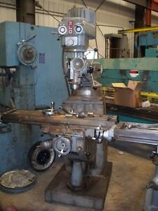 9668 Xlo Vertical Milling Machine