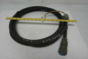 3 8 Hydraulic Hose Approx 14 W 97 3055 22 12 Amphenol 2 Pin Connector