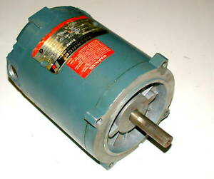 Reliance 3 Phase Ac Motor 1 3 Hp Model 33116221166