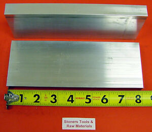 10 Pieces 1 X 3 Aluminum 6061 Flat Bar 8 Long Solid 1 000 T6511 Mill Stock