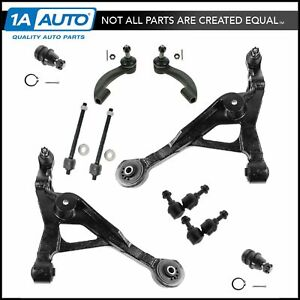 Front Arm Ball Joint Sway Link Tie Rod 10pc Kit For Chrysler Sebring Stratus New
