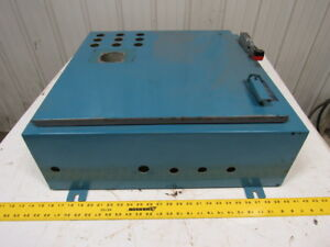 Hoffman Steel Electrical Enclosure Junction Box 24 l 24 w 8 d