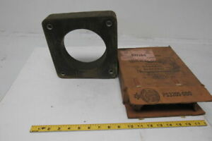 General Electric 837x66 Type Jah 0 Current Transformer 1500 5 Ratio