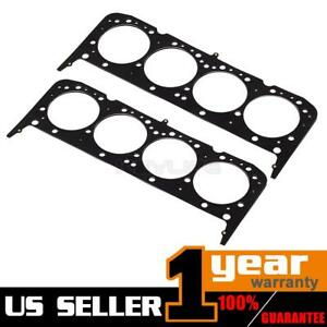 2x Fits 55 00 Sbc Chevy 350 383 Mls Multi Layer Steel Head Gasket 4 065 0 040