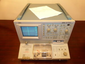 Tektronix 370 Programmable Curve Tracer W A1003 Test Fixture Calibrated