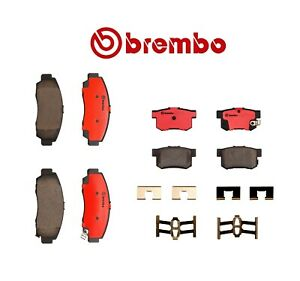 For Acura Tl 3 2l V6 1999 2008 Brembo Front Rear Brake Kit Pads