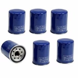 6 Pcs For Honda Acura Union Sangyo Oem Engine Oil Filter