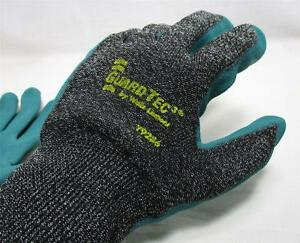 12 Pair Wells Lamont Guardtec3 Gloves Nitrile Palm Cut Resistant Y9286 Large B18