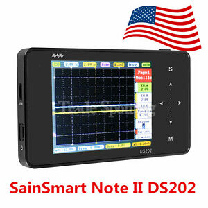 Sainsmart Mini Pocket Dso202 Ds202 Touchscreen Digital Oscillo scope