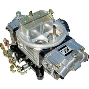 Proform Carburetor 67213 Street 750 Cfm 4 Barrel Mechanical Polished Black