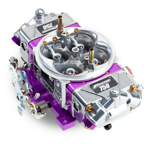 Proform Carburetor 67200 Race Series 750 Cfm 4bbl Mechanical Polished Purple