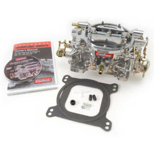 Edelbrock Carburetor 1405 Performer 600 Cfm 4 Barrel Vacuum Secondary Satin