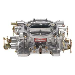 Edelbrock Carburetor 9905 Reconditioned Performer 600cfm Vacuum Secondary Satin