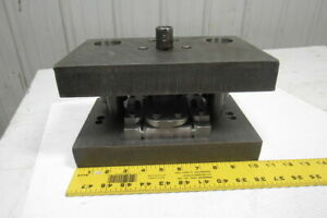 Punch Press Die Set shoe Rectangular Back 2 Post 10 1 2 w X 6 1 2 fb 4 Throat