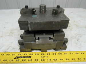 Punch Press Die Set shoe Back Post 6 1 2 w X 6 1 2 4 Throat