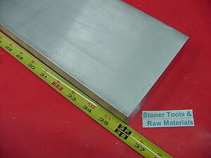 1 2 X 8 Aluminum 6061 Flat Bar 36 Long T6511 500 Solid Plate Mill Stock