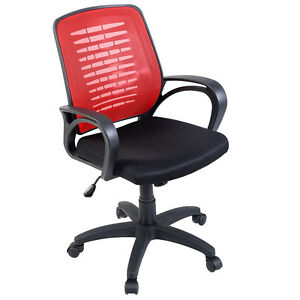 Goplus Modern Ergonomic Mesh Mid back Executive Computer Desk Task Office Chair