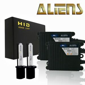 New Aliens Xenon H1 Hid Kit Headlight Fog Lights Conversion Kit All Color