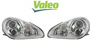 For Porsche Cayenne 03 06 Set Of Left Right Headlights Assies Xenon Valeo Oem