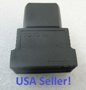 Toyota 17 Scanner Adapter For Launch X431 Master Diagun Iii X431 Iv Pad Idiag